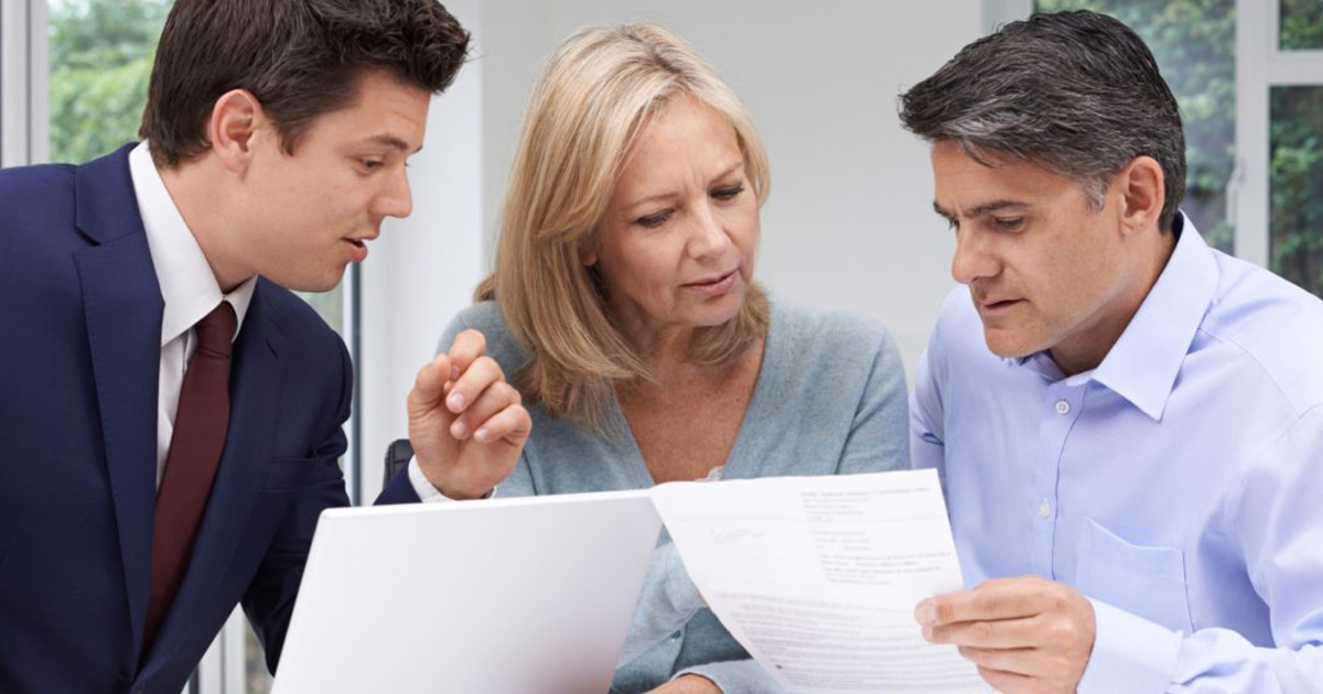 Financial, Insurance, Legal, and Hospice Advice with PF