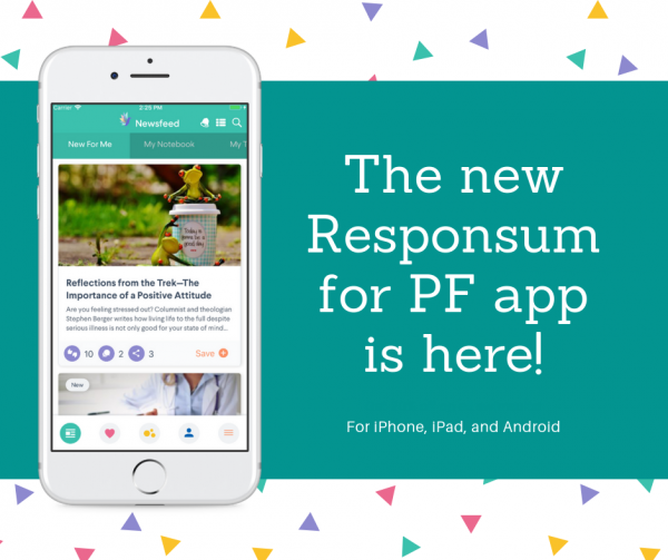 The new Responsum for PF app is here! (1)